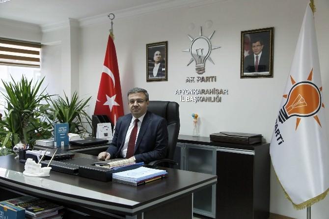 AK Parti Afyonkarahisar İl Başkanı İbrahim Yurdunuseven Bayram Mesajı Yayınladı