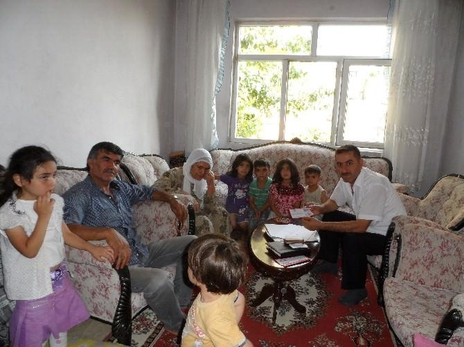 Bem-bir-sen Adıyaman Şubesinden 124 Aileye Nakdi Yardım