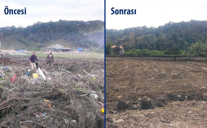 Dalaman'da Eski Kil Ocağı Tarıma Kazandırılıyor