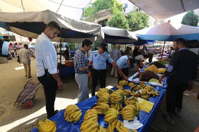 Efeler Belediyesi Zabıta Ekipleri Pazar Kontrollerini Sürdürüyor