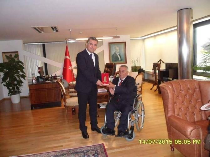 Bozüyük Engelliler Derneği Başkanı Çelik, Berlin Başkonsolosu Şen'i Ziyaret Etti