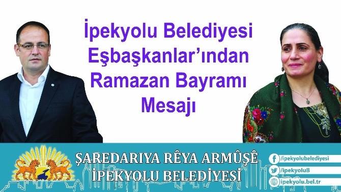 İpekyolu Belediyesi Eş Başkanlarından Bayram Mesajı
