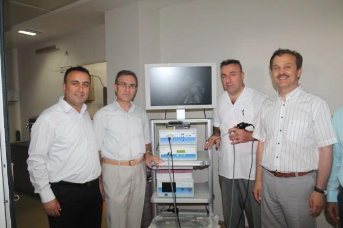 Gemlik Devlet Hastanesine Yeni Cihaz