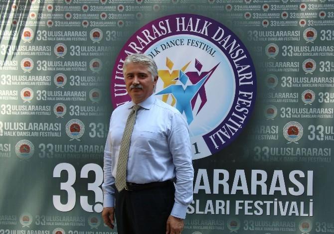 Halk Dansları Festivali'ne 16 Ülkeden 550 Dansçı Katılacak