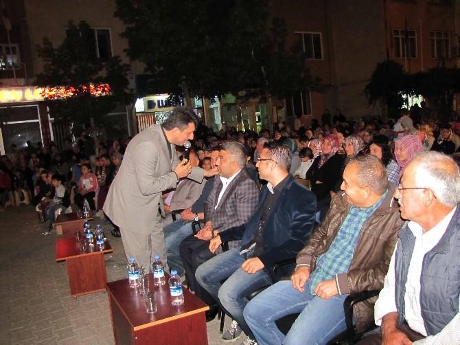 Mustafa Özcan Güneşdoğdu Hisarcık'ta İlahi Konseri Verdi