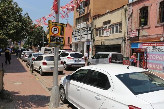 Kocaeli'de Parkomatlar Bayram Süresince Ücretsiz