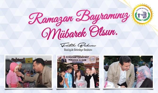 Başkan Bakıcı'dan Ramazan Bayramı Kutlama Mesajı