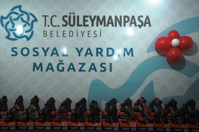 Süleymanpaşa Belediyesi Dost Eli Giyim Mağazası Bayrama Hazır