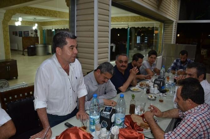 Nazilli Belediyespor Yönetimi, Basınla İftarda Bir Araya Geldi