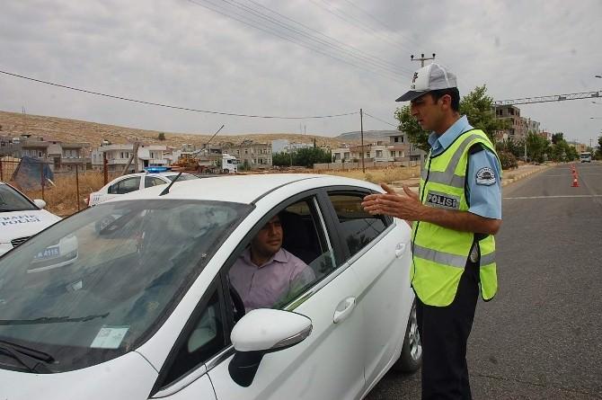 Bayram Öncesi Adıyaman'da, Trafik Denetimleri Artırıldı