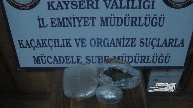 Kayseri'de Uyuşturucu Tacirlerine Operasyon