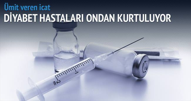 Kan almadan diyabet testi