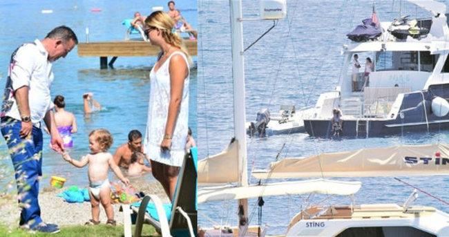 Ali Ağaoğlu teknesini oğluna tahsis etti
