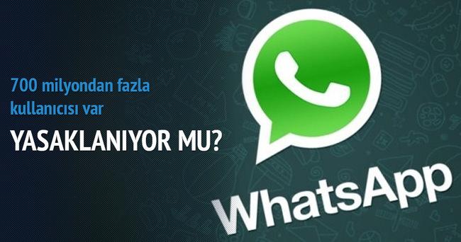 Whatsapp İngiltere'de yasaklanıyor mu