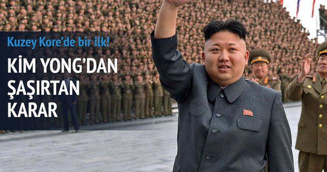 Kim jong-un izin verdi! Kuzey Kore'de bir ilk!