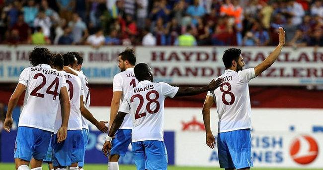 Trabzonspor tek golle geçti