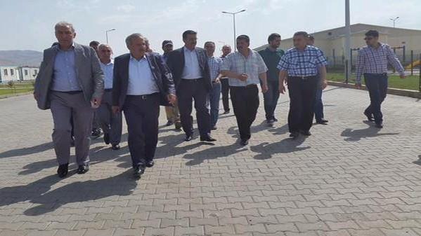 AK Parti Bayramlaşma Ziyaretlerine Devam Ediyor