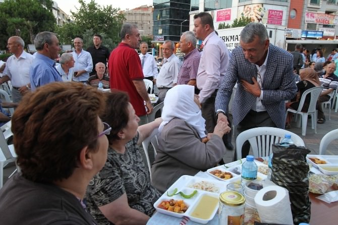 Gaziemir'de Ramazan Ayının Son İftarı