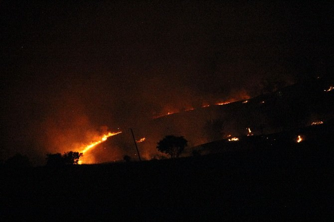 Su Isıtmak İçin Yakılan Ateş Yangına Neden Oldu