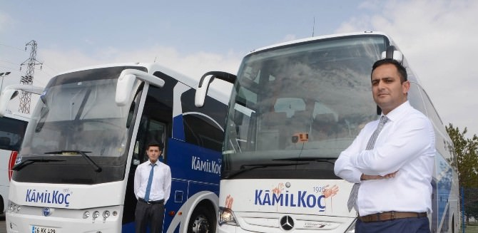Kamil Koç'tan Erzurum Filosuna Yüksek Donanımlı 10 Otobüs