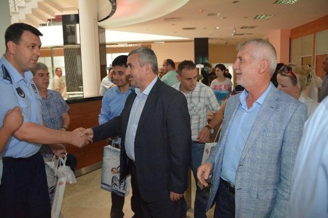 Başkan Baran, Belediye Personeli İle Bayramlaştı
