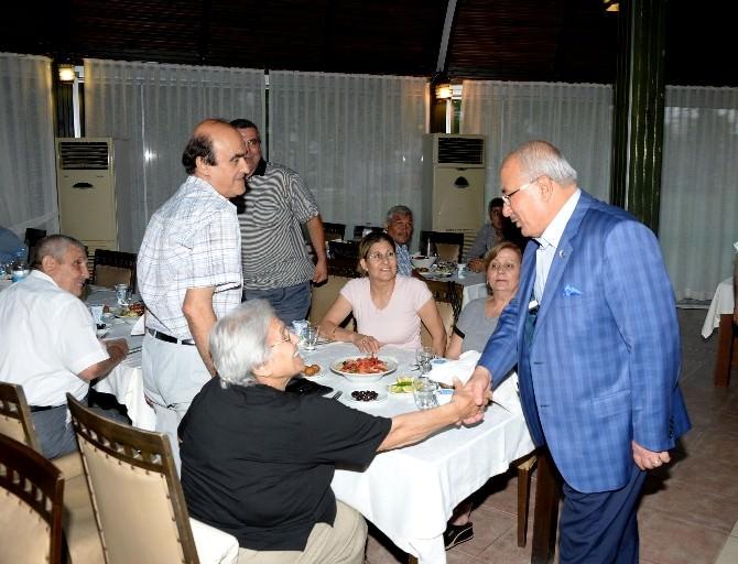 Mersin Büyükşehir Belediyesi'nden Şehit Aileleri Ve Gazilere İftar