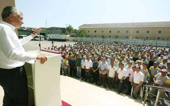 Başkan Karalar, İşçilerin Bayramını Kutladı