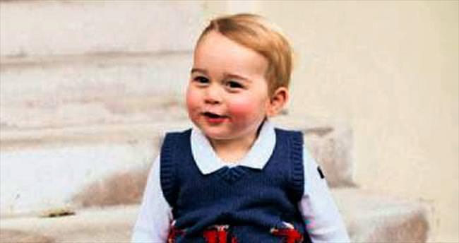 Prens George için para basıldı