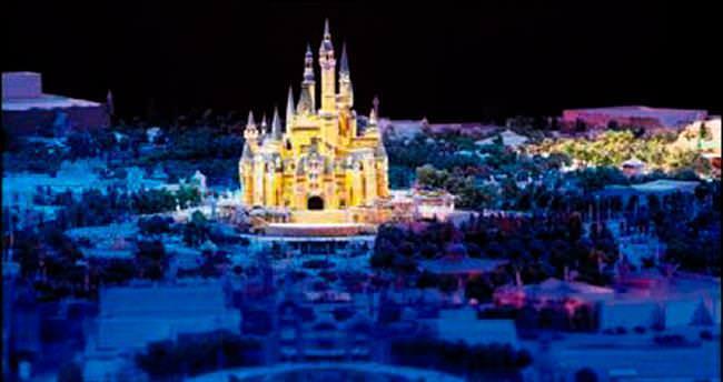 Çin'in Disneyland'ı 5.5 milyar dolar