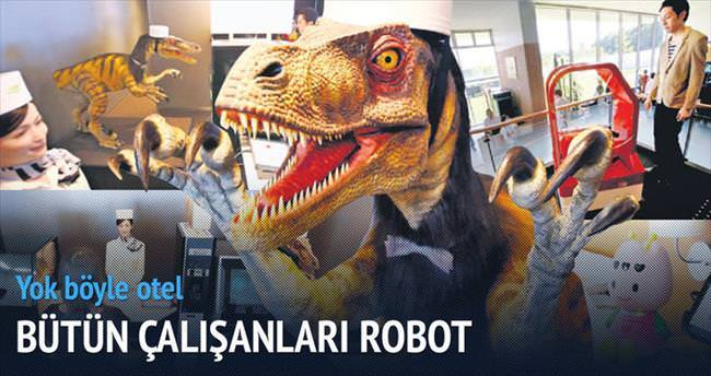 Çalışanlar robot yöneticiler insan