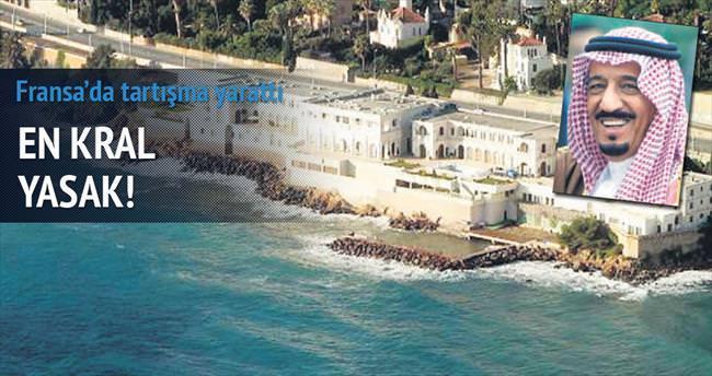 Suudi Kralı'nın Fransa tatili plaj kapattırdı