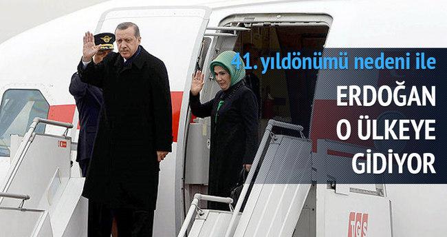 Erdoğan KKTC'ye gidiyor