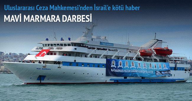 İsrail'e 'Mavi Marmara' darbesi