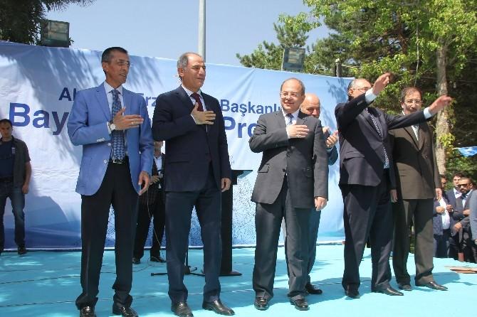 AK Parti'de Bayramlaşma Programı