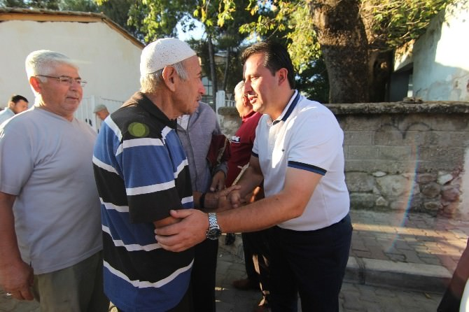 Başkan Soylu Vatandaşlarla Bayramlaştı
