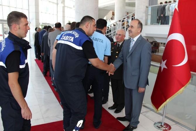 Konya'da Bayramlaşma Programı