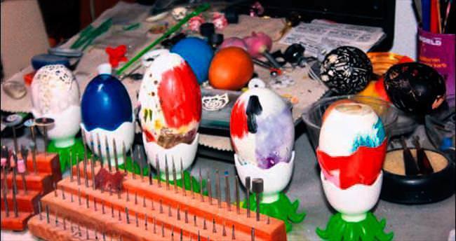 Yumurtadan hediye çıkıyor!