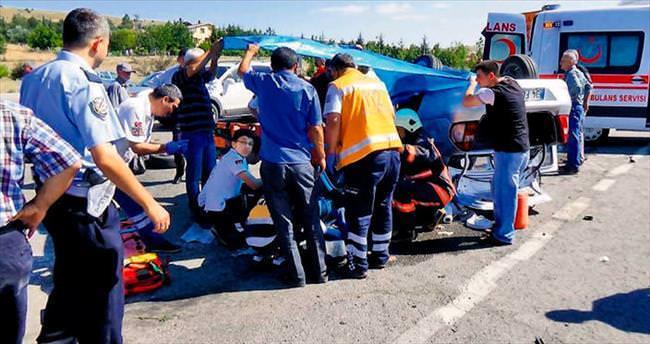 Kazan'da yaralılara brandalı müdahale