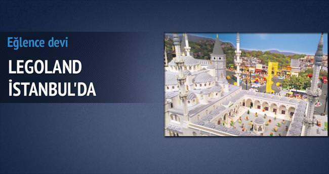 Legoland İstanbul'a geldi