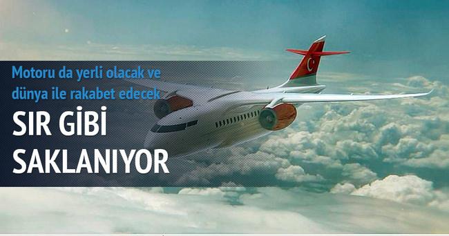 Milli yolcu uçağının motoru da yerli olacak