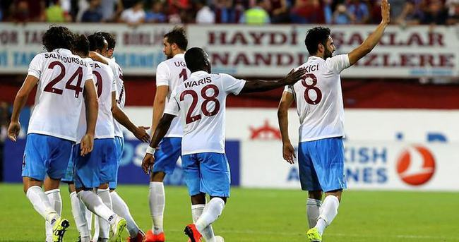 Trabzonspor, Almanya'ya gitti