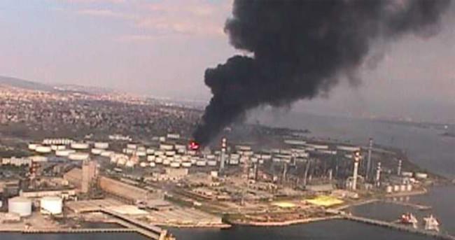 Tüpraş'ta neden yangın çıktı?