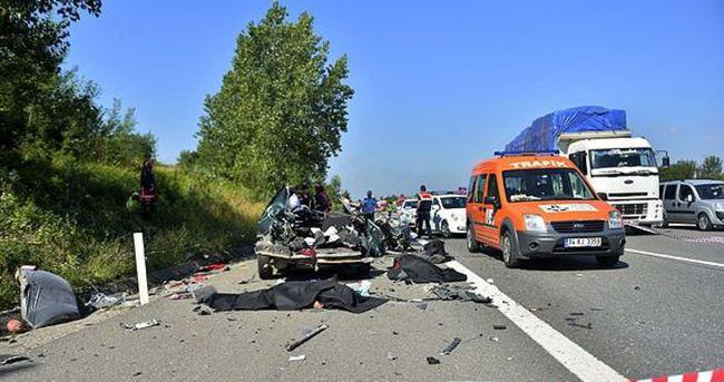 Trafikte bayramın ikinci günü bilançosu: 18 ölü 107 yaralı