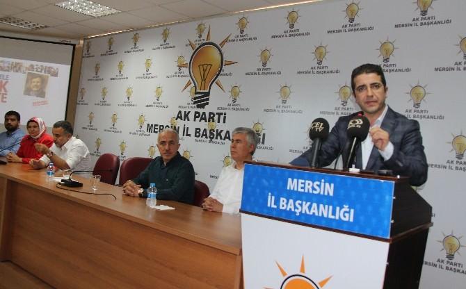 Mersin AK Parti'de Bayramlaşma