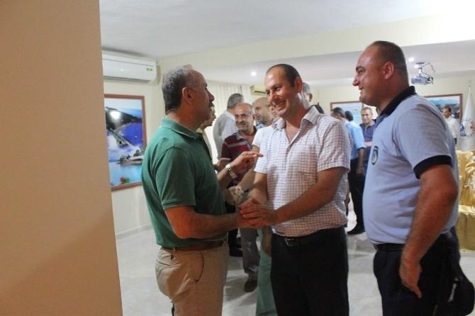 Başkan Culha Belediye Personeliyle Bayramlaştı