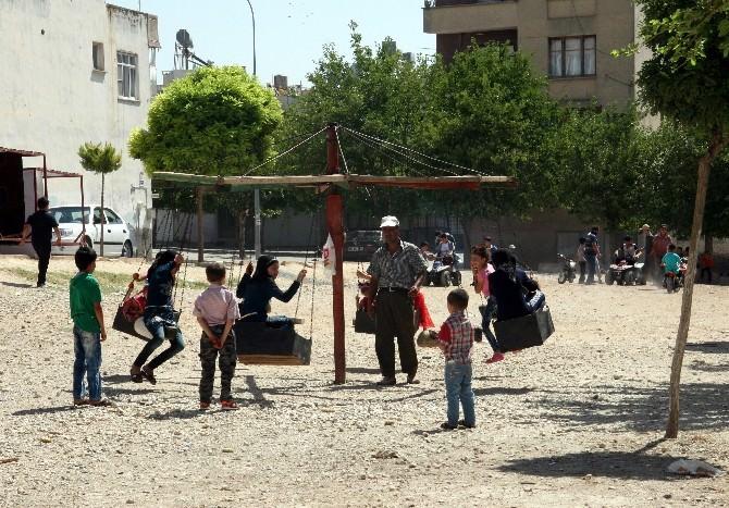 Kilis'te Çocuklar Gönüllerince Eğlendi