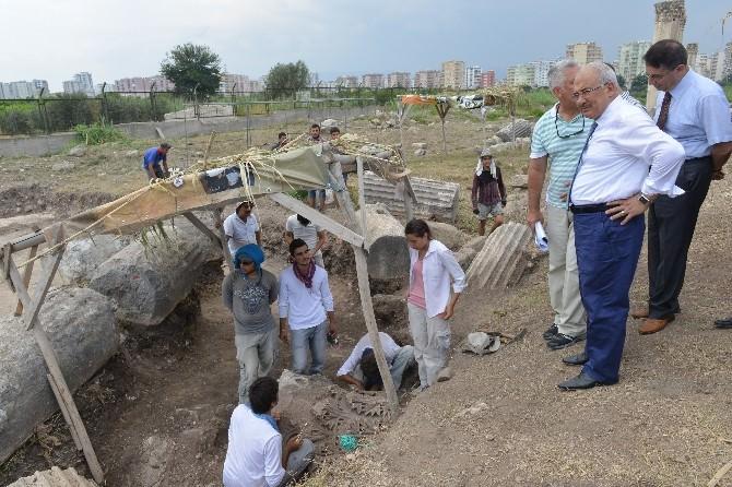 Soli Pompeipolis Antik Kent Kazıları Sürüyor