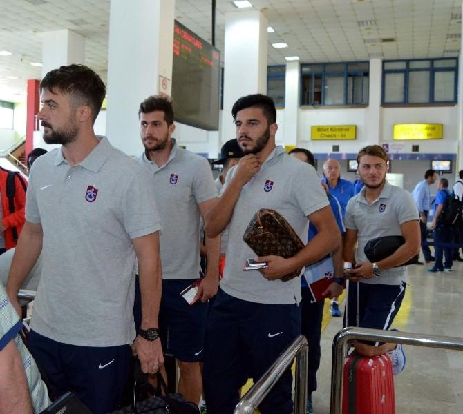 Trabzonspor Almanya'ya Gitti