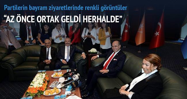 Bayram ziyareti koalisyon harareti
