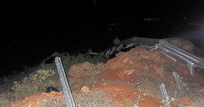 Tanker uçuruma yuvarlandı: 1 ölü